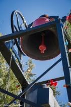 The fire bell.