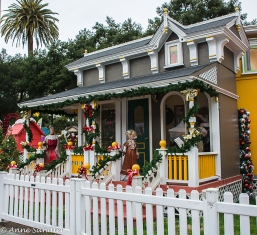 Christmas in the park display.