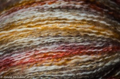 I love texture and found it at a yarn store.