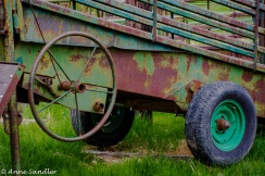 And, you know I love old, rusted equipment.