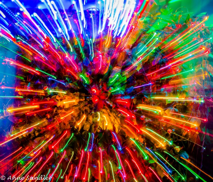 Holiday Lights In Abstract Slow Shutter >> Christmas Decorations Slow Shutter Speed