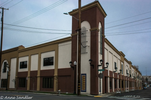 A building across from the Cannery.