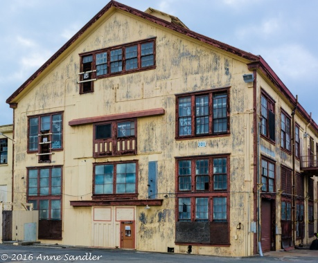One of the few old buildings left on Mare Island worth shooting.