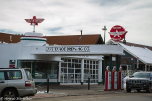 In Truckee, a brewery has made a home of an old gas station.