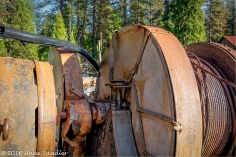 I love old rusted machinery.