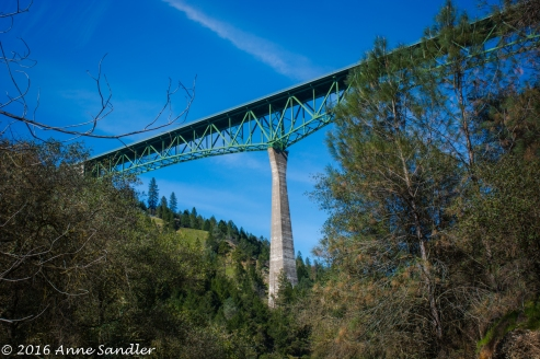 The Foresthill Bridge. The highest bridge in the Greater Sacramento area.