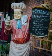A fun way to give the daily specials.