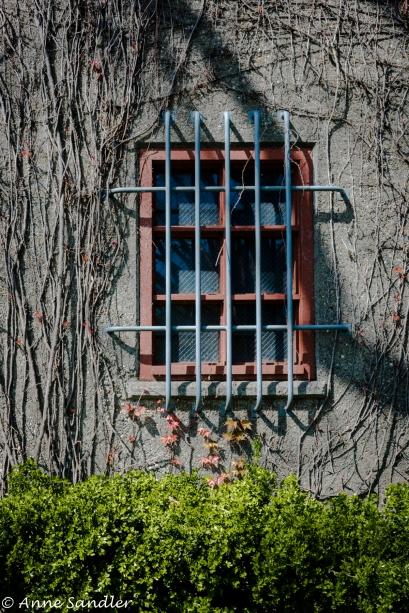 Building window.