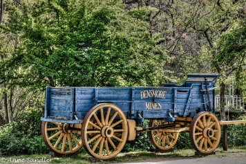 An old wagon.