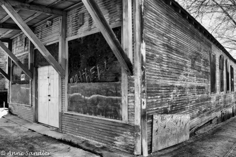 Old and abandoned in Tuolumne.