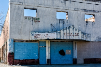 An old theater in Tuolumne.