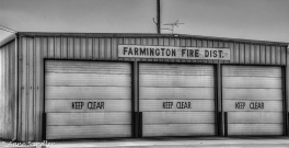 The Farmington fire house.