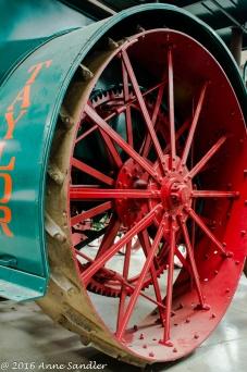 Here's a wheel.