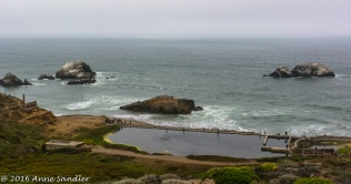 The Sutro Baths. Once an indoor spa.