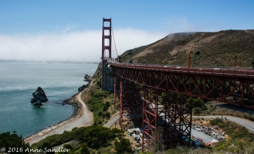 Another view of the Golden Gate.
