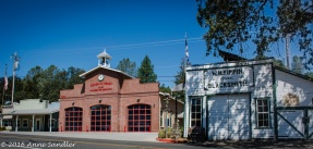 The fire-station near the blacksmith shop.
