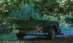 An old wagon.