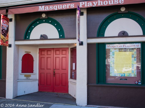 I loved the doors on this playhouse in Point Richmond.