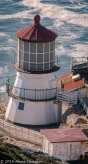 A closer view of the Lighthouse which was closed.