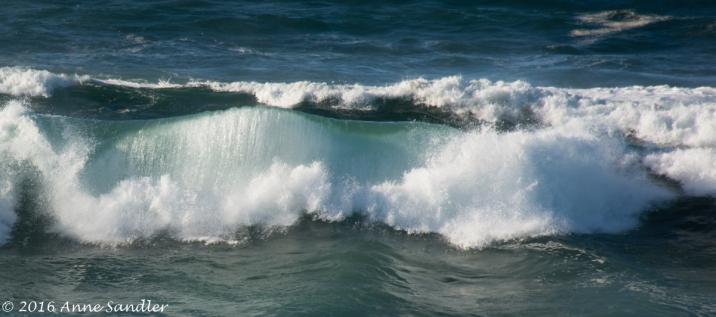 I enjoyed shooting the waves.