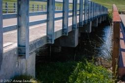 Bridge leading to the island.