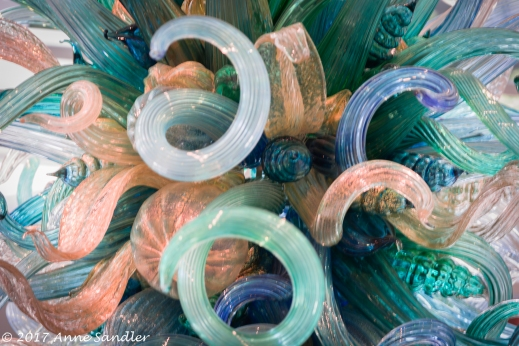 Part of a Chihuly chandelier.
