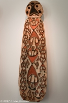 African art display.