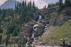 A waterfall at Big Bend.