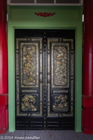 These doors are inside the museum.