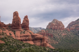 Beautiful red rock and spires.
