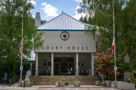 The court house.