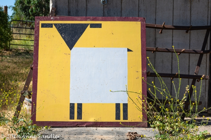 This was sitting on a farm. The first picture in this blog was hung on the barn.