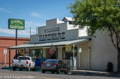 The towns's hardware store,