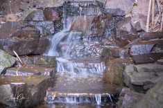 One of the water falls. There is so much stuff at each area, it was sometimes difficult to shoot one area. I had to crop in close for this.