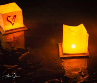 I was ready to take the shot when the heart lantern began to move away.